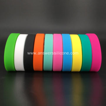 Custom Colorful Silicone Rubber Watchband