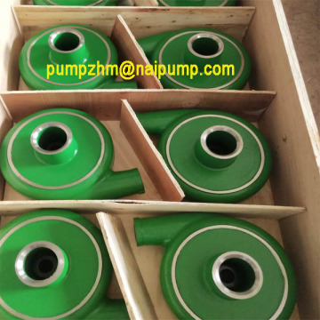 high chrome wet end parts pump volute