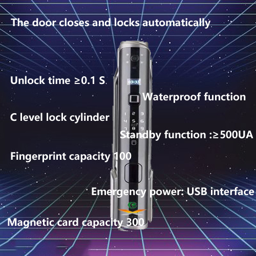 Multiple unlocked fingerprint locks