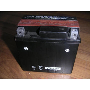 Good Starting Performance Oem Motorcycle Batteries 12V 4Ah