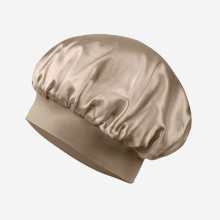 19Momme Silk Sleeping Cap Traceless Half Elastic Cap
