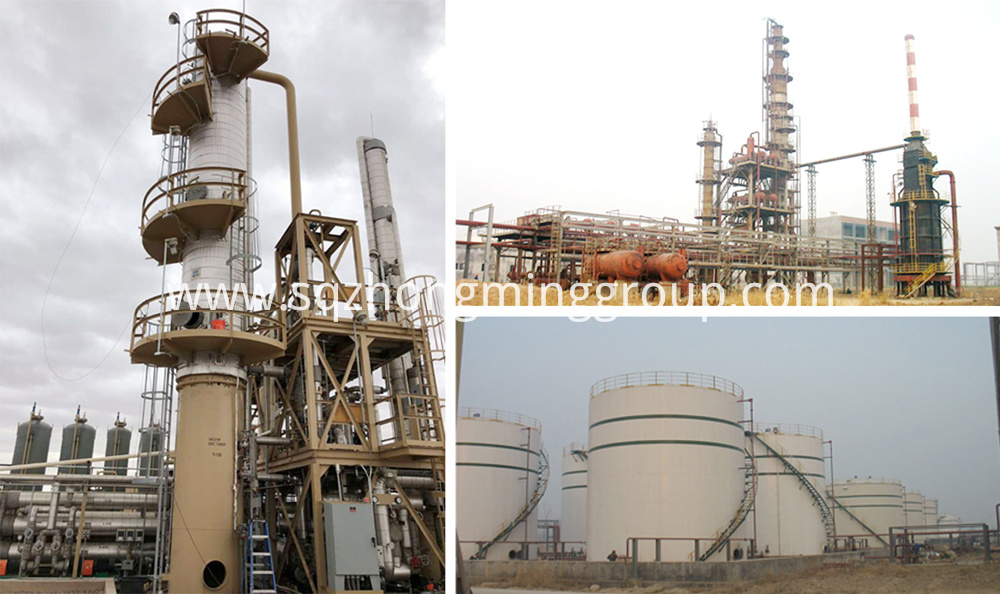 Waste Oil Distillation Process