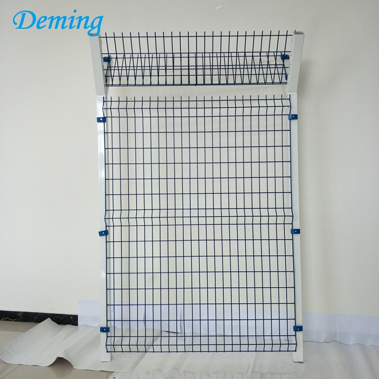 PVC Coated Iron Wire Airport Fence