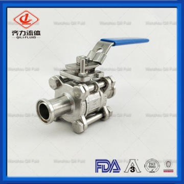 food grade stainless steel clamp ball valve