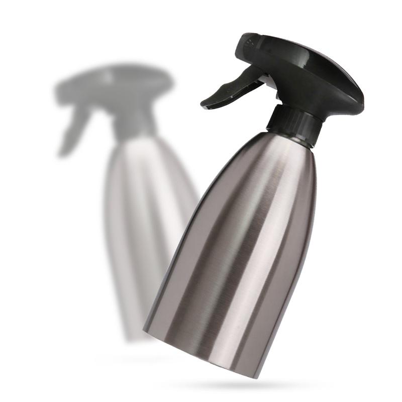 500ML Stainless Steel Barbecue Tableware Gravy Boats Oil Spray Bottle Kitchen Olive Oil Sprayer Kitchen Tools