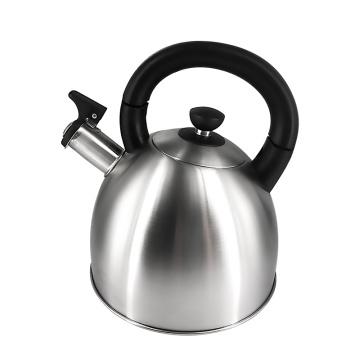 Fashional designed stainless steel  whistle kettle