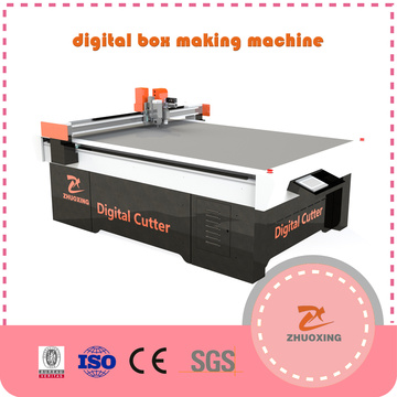 Dieless Cutter And Cutting Machine For Corrugated Box