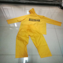 High Quality custom long vinyl pvc raincoat/rain coat