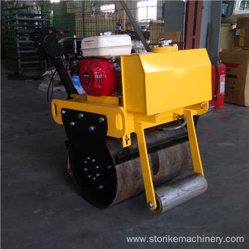 Mini rust corrosion resistance single drum road roller 330kg