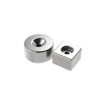 Round ring countersunk neodymium rare earth magnet