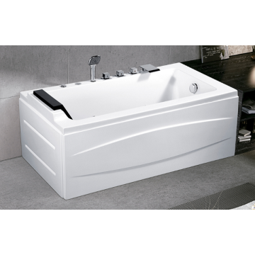 Bathroom Shower Standing Whirlpool Acrylic Massage Bathtub