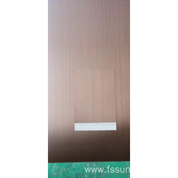 Hairline and copper coated ss sheets