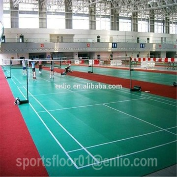 PVC material and UV surface  badminton floor