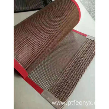 Dry machine belt made up of PTFE cloth