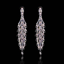Retro Crystal Diamond Earrings For Girl