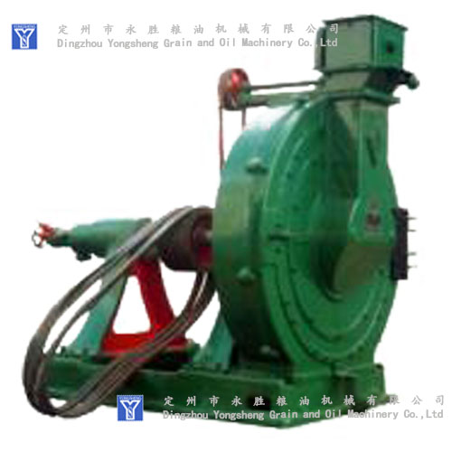 Disc crusher for peanut