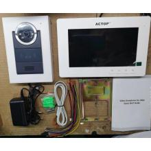 4 Wire Video Simple Intercom System