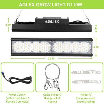 Linear plant grow light full sepctrum for hemp