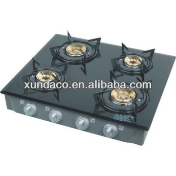 Powerbox 4 Gas Burner Glass Top Cooker