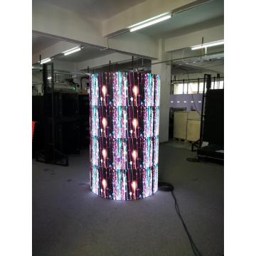 Cylinder Flexible led video wall