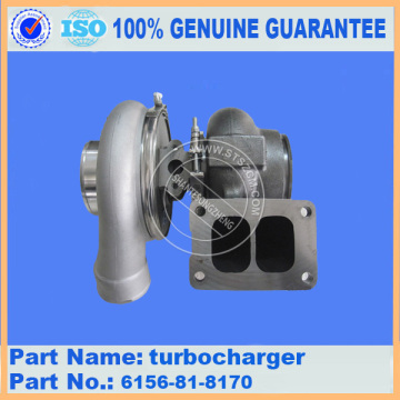 GENUINE KOMATSU PC490-10 Turbocharger 6507-11-5010
