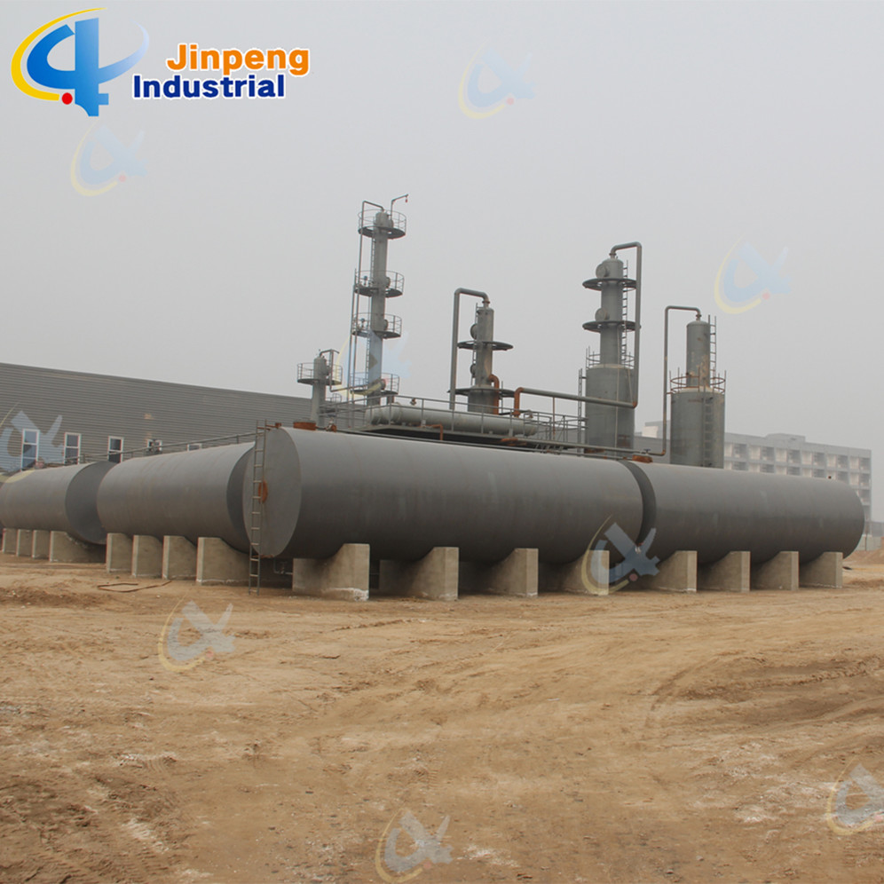 Engine Oil Refinery Continuous Rubber Oil Recycling Machine