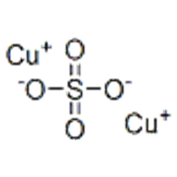 Name: Sulfuric acid,copper(1+) salt (1:2) CAS 17599-81-4