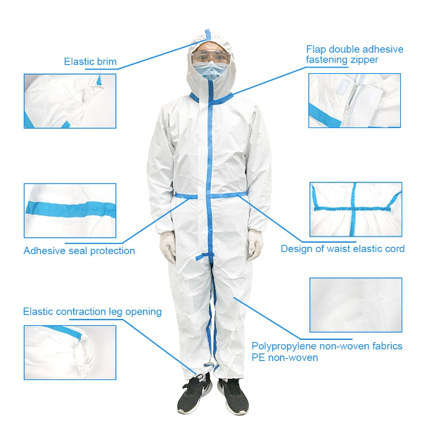Overall Protective Gown