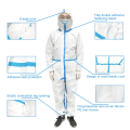 Disposable Non-Woven Impervious Isolation Gown
