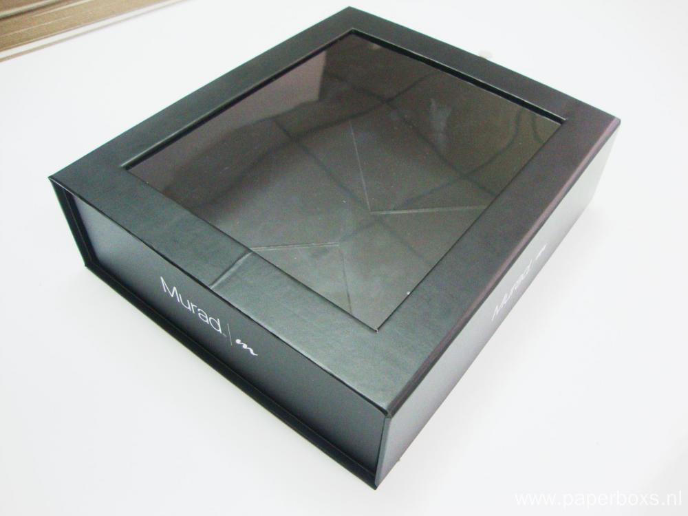 Printed Collapsible Paper Box With Insert