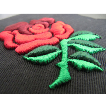 Custom 3D Embroidered Patch for garment