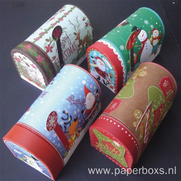 Christmas Holiday Gift Boxes Mailboxes Shape
