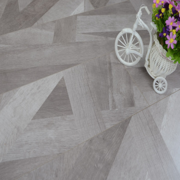 Grey Color Stairs Laminate Flooring Wood