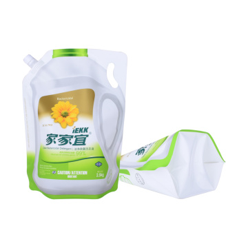 biogradable plastic spout pouch  for water packaging