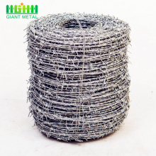 Anti-corrosion Galvanized Barbed Wire Fence For Sale