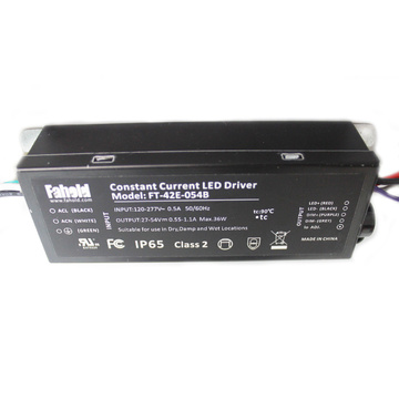 Driver LED dimmerabili Case 277Vac 42W in metallo
