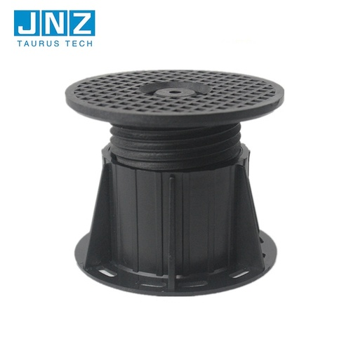 Indoor support system adjustable plastic decking pedestal