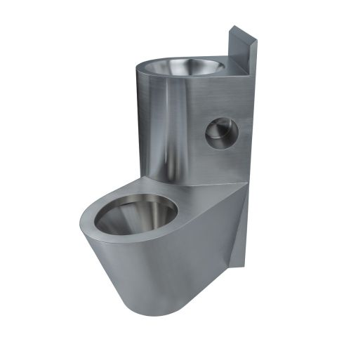 Comby wash basin and toilet