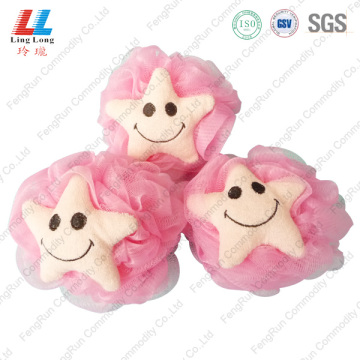 Starfish Shape bath small sponge ball