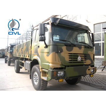 371HP Steyr Engine 4x4 Full Road Cargo Truck