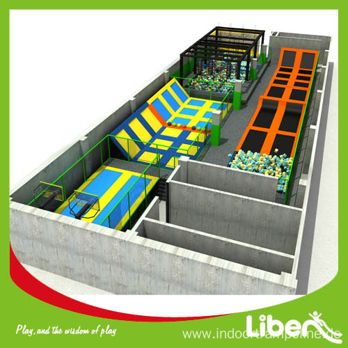 High Quality Popular Professional Basketball Trampoline Sport for Indoor
