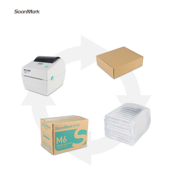 108mm Thermal shipping label printer for logistics industry