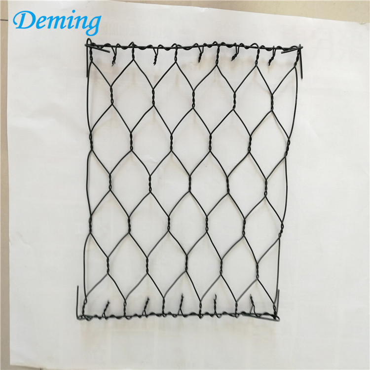 factory galvanized wire mesh stone cage gabion baskets