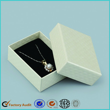White Jewelry Packaging Box Necklace