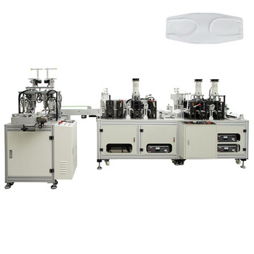 Automatic KF94 Fish Type Face Mask Making Machine