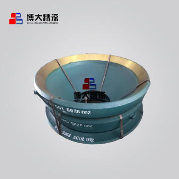 High Manganese bowl liners for symons cone crusher
