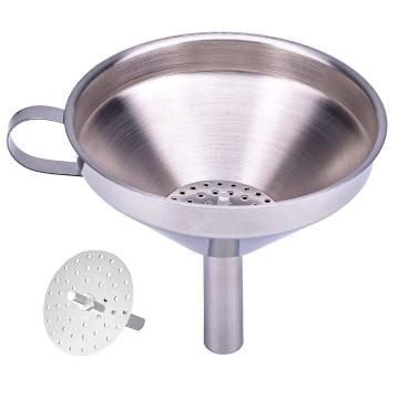 Stainless Steel Kitchen Funnel For Cooking Oil