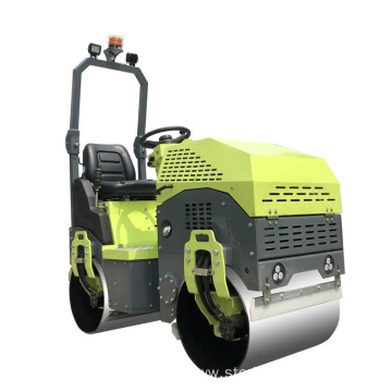High efficiency Honda engine ride on road roller