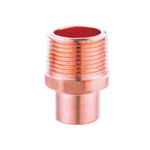 Copper Male Adapter/Male Thread Connection