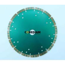 230mm Segmented Turbo Blade with Cooling Hole
